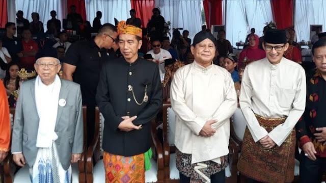 Hasil Survei Charta Politika: Prabowo-Sandi Lebih Populer di Kalangan ASN Dibanding Jokowi-Ma'ruf