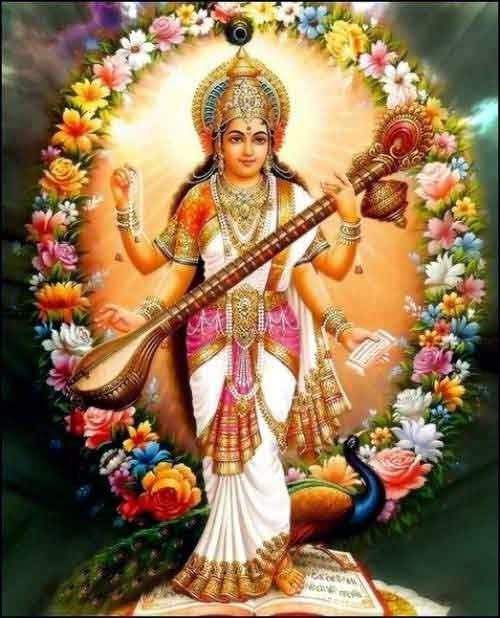 Durganavratri In Saraswati Vandana In Hindi