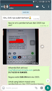 Testimoni CUG Telkomsel Kartu Pasangan Kartu Komunitas Kartu Soulmate Kartu Couple 31 Oktober 2018 4