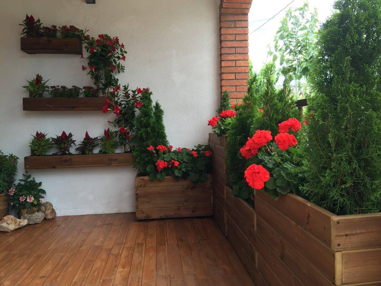 Jardineras de madera mayo 2016 for Jardineras con palets de madera