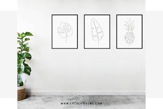 DIY One Line Wall Art