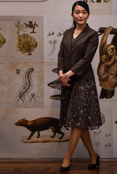 Japan's Princess Mako visited the Museum of Zoology of the University of Sao Paulo in Ipiranga. Princess Mako arrived in Brazil