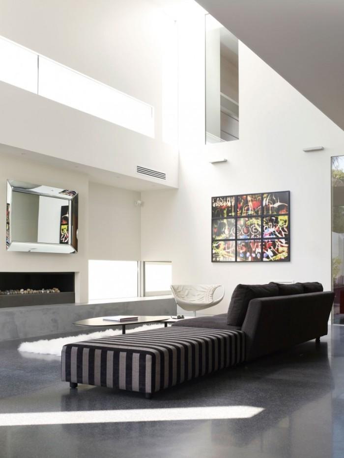 Hogares frescos dise o de interiores en casa de dos pisos - Disenos interior de casas ...