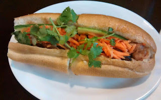 Delicious Pho Vietnamese BBQ Chicken Sandwich