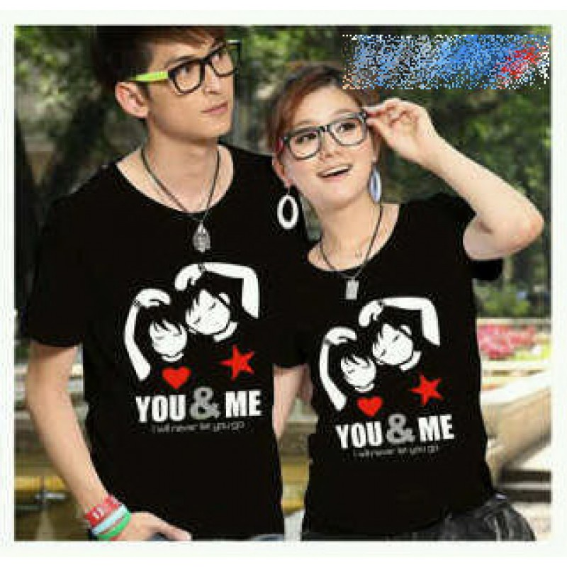 Jual Baju Couple Never Let You Go - 20074