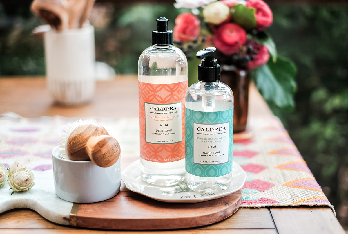 Stylish Summer Scents with Grove Collaborative + Caldrea