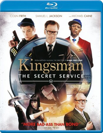 Kingsman The Secret Service (2014) Dual Audio Hindi 720p BluRay ESubs Download
