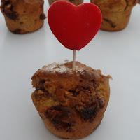 Muffins de snickers e manteiga de amendoim