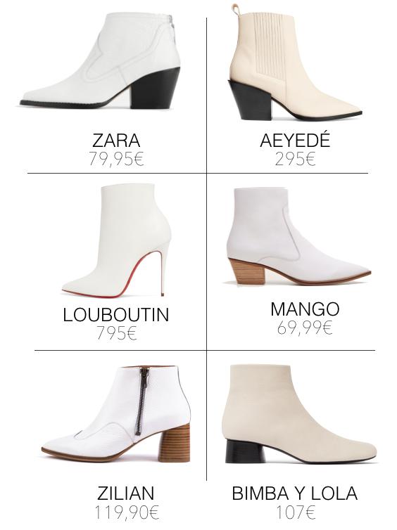 059f85e41 A Pipoca Mais Doce: Diz que está na moda: botins brancos