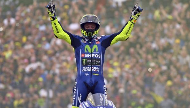 Jadwal MotoGP jerman Valentino Rossi jagokan Marc marquez