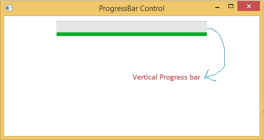 Use Progress bar control with vertical orientation: WPF