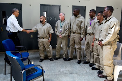 President Obama made history when he became the first U.S. President to visit a U.S. prison.