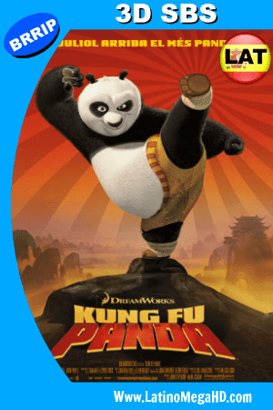 Kung Fu Panda (2008) Latino Full 3D SBS 1080P ()