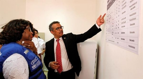 OMS reconoce labor de Cuba en vacunación