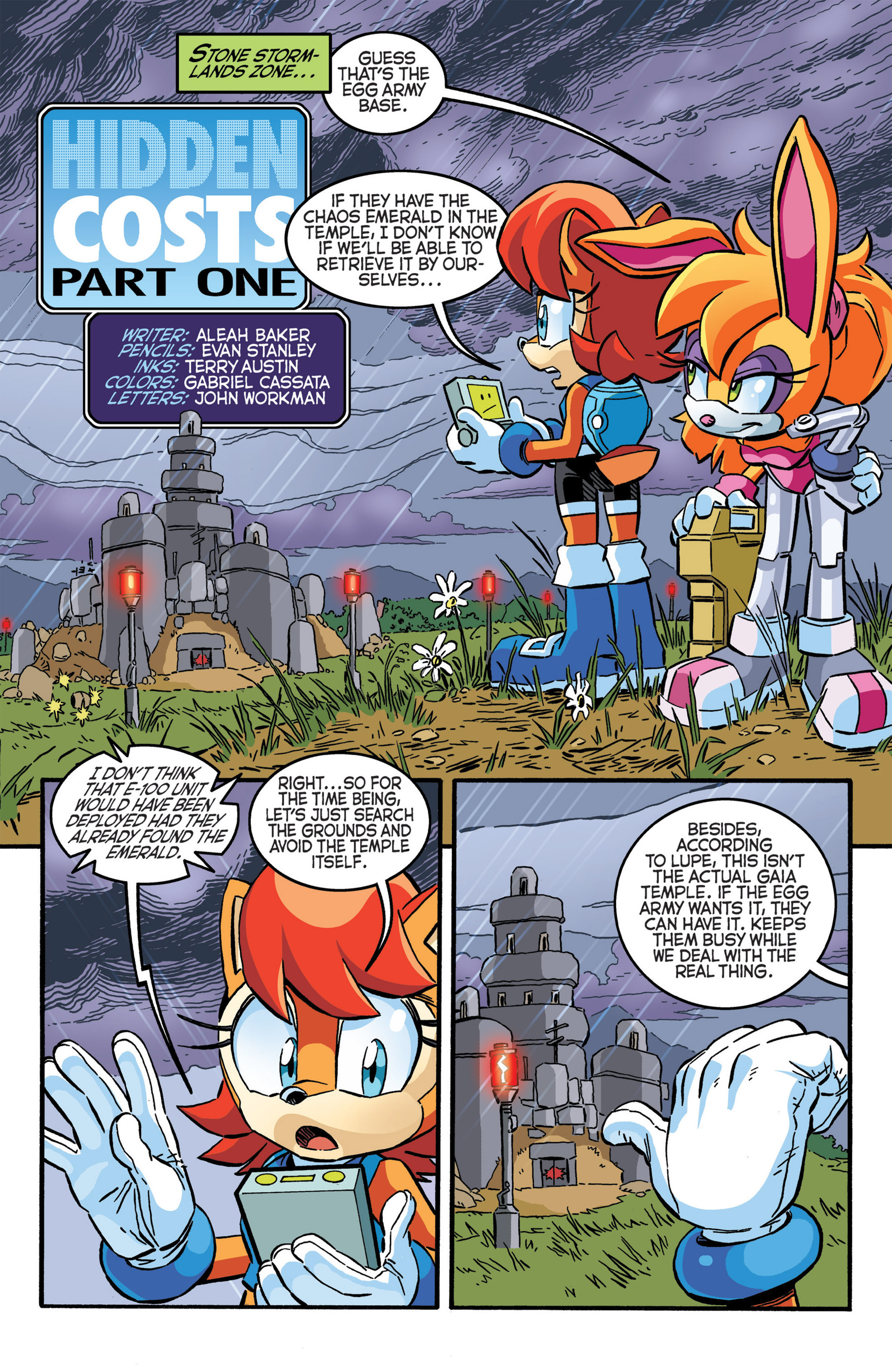 Read online Sonic The Hedgehog comic -  Issue #277 - 13