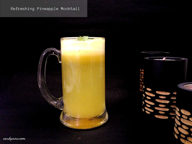 Refreshing Pineapple Mocktail Recipe