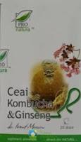 Ceaiul Kombucha si Ginseng Pro Natura
