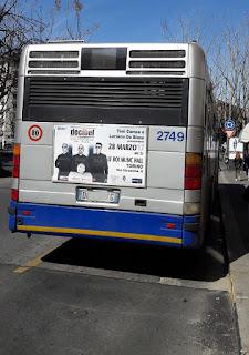 Manifesti concerto Decibel - Torino