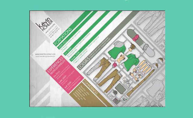 ejemplos brillantes diseños de curriculum vitae