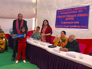The Guild of Service, New Delhi, opens Sannidhi Primary School in Jaipur