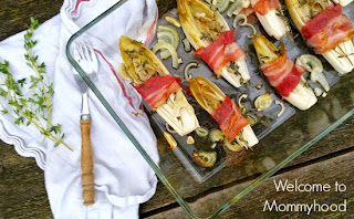 Easy, healthy recipes: Bacon Wrapped Endive {Welcome to Mommyhood} #whole30, #paleo, #easyhealthyrecipes