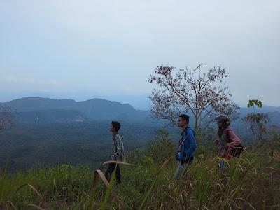 Pemandangan Gunung Titi, Pemandangan Bukit Titi, Gunung Titi Limpasu,