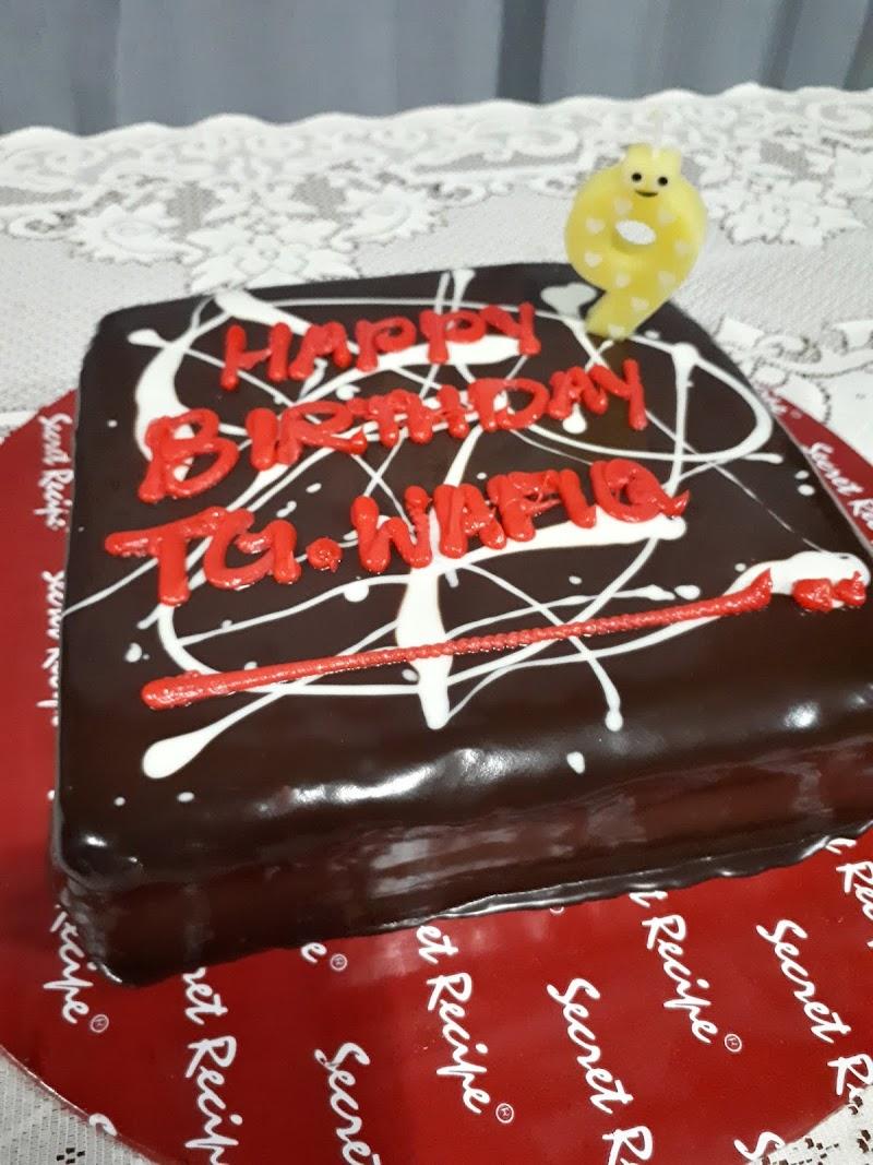 Selamat Ulang Tahun Kelahiran Abang Wafiq