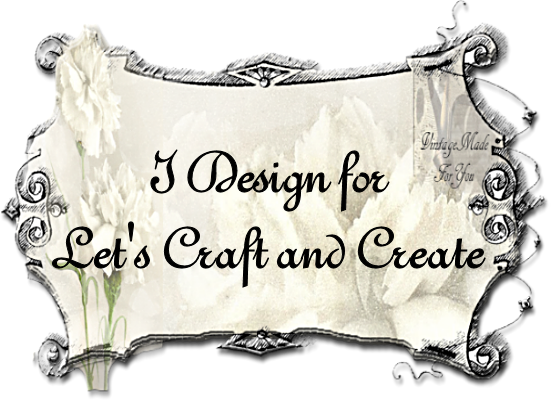 I design for Let's Craft and Create