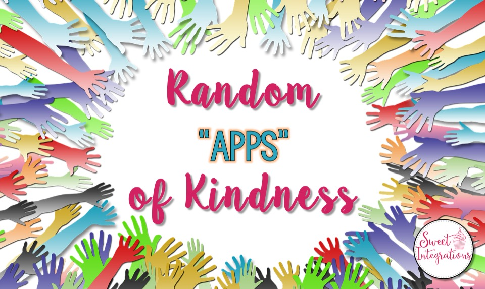"Students can show random ""apps"" of kindness with these fun apps. I've provided different apps with ideas to go with each."