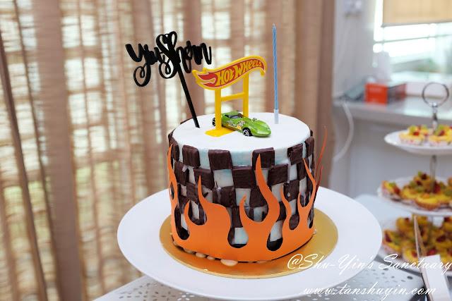 Shu Yin S Sanctuary Shern S Hotwheels 7th Birthday Cake