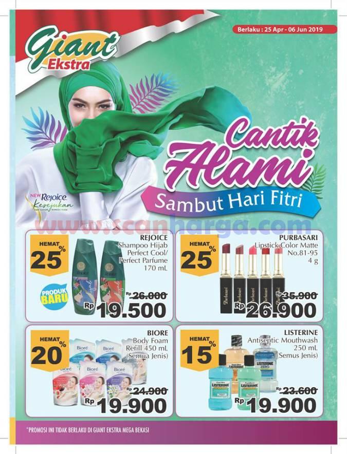Katalog Promo Giant Ekstra Mailer Ramadhan Lebaran 25 April - 6 Juni 2019