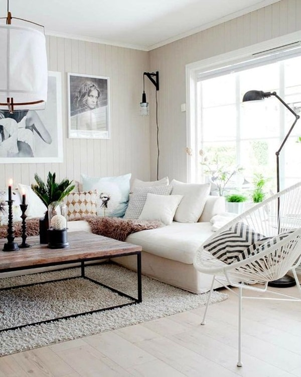 7 ideas for decorating rooms with little money 2