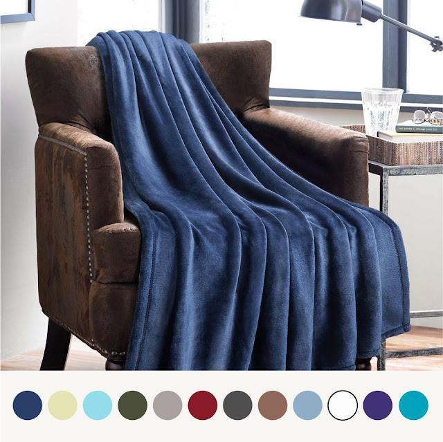 Amazon: Bedsure Flannel Fleece Blankets as low as $12!