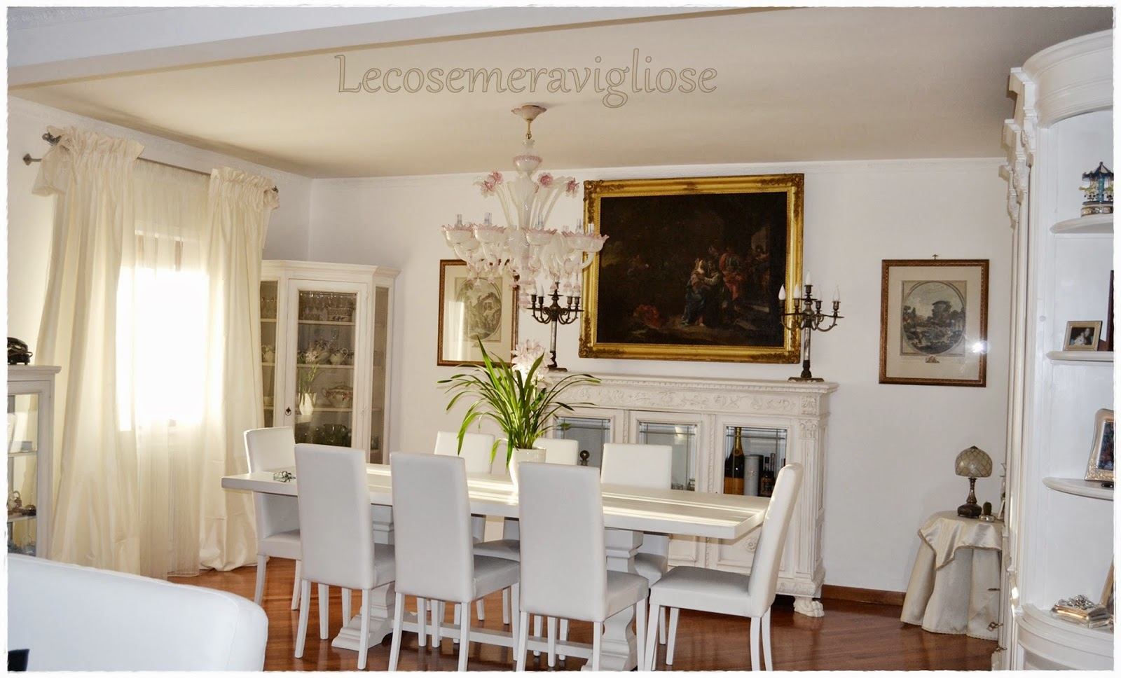 lecosemeravigliose Shabby e country chic passions: Before & After restyling home in Bianco Puro
