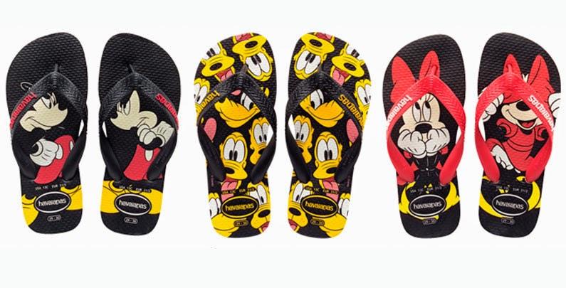 Havaianas do Mickey e sua turma na Disney