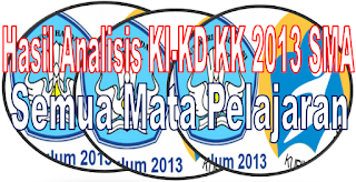KI KD SMA/ SMK Kurikulum 2013 Kelas X, XI, XII