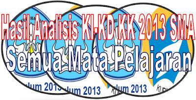 Download KI KD Kurikulum 2013 SMA Revisi 2017 Semu Bidang Studi