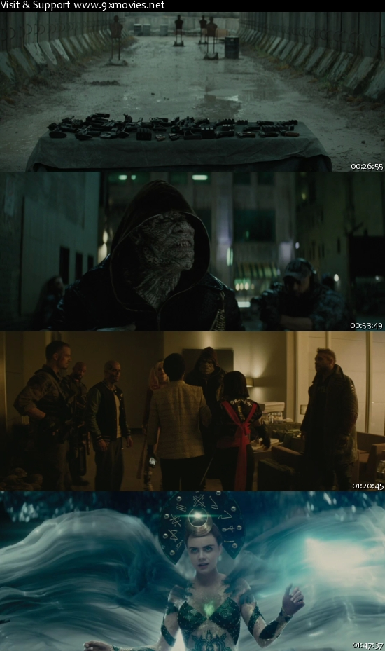 Suicide Squad 2016 EXTENDED English 720p WEB-DL