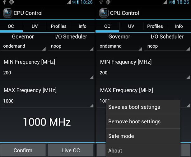 CPU Control Pro Apk Full Gratis