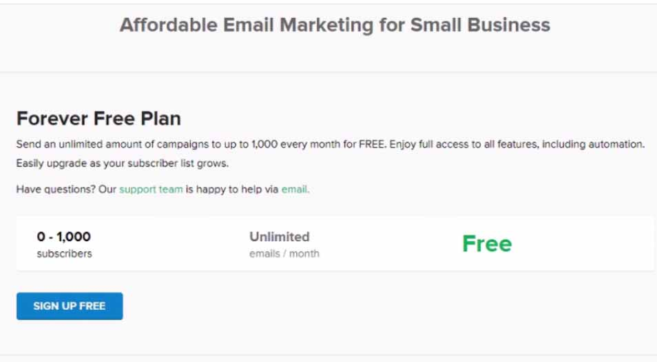 5 Best Free Bulk Email Marketing Services For Small Businesses