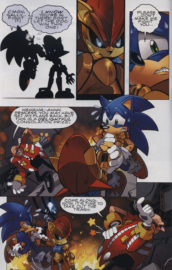 Read online Sonic The Hedgehog comic -  Issue #231 - 4