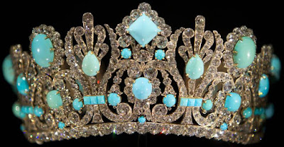Empress Marie Louise France Emerald Diadem Tiara Nitot Turquoise Smithsonian