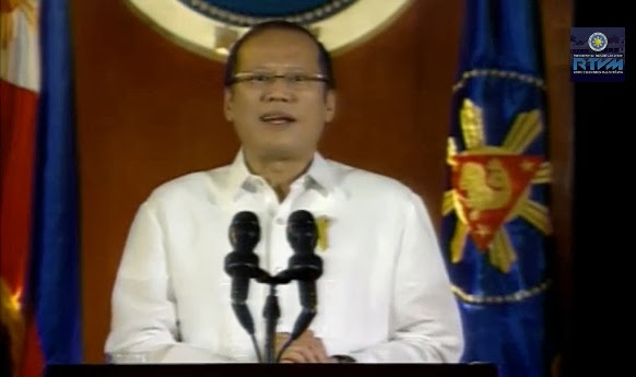 Pnoy's speech transcript (Tagalog, English), video October 30, 2013  now available online