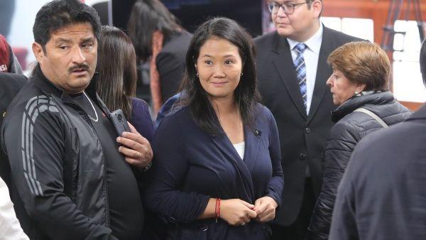 Aplazan audiencia de prisión preventiva a Keiko Fujimori en Perú