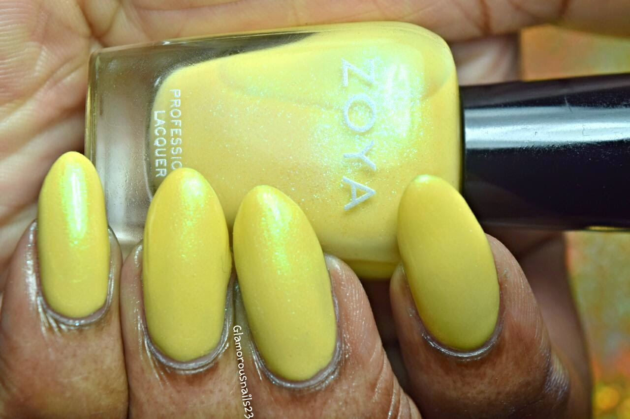 Daisy Swatch; Zoya Delight Collection 2015