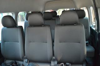 Kapasitas Mobil Hiace, Mobil Hiace