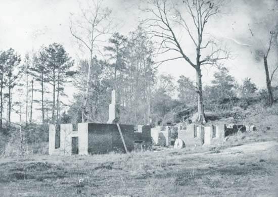Ruinas del molino de Gaines,
