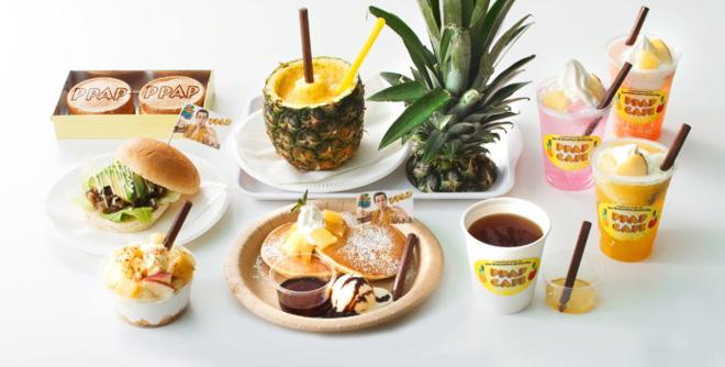 PPAP Cafe Menu