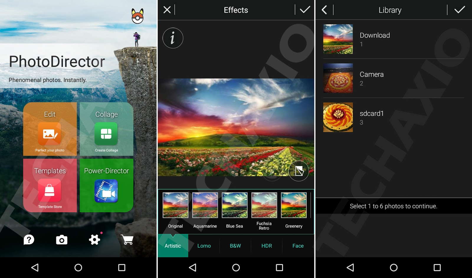 PhotoDirector Photo Editor Screenshots
