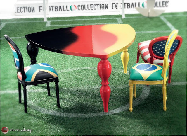 Home Decorations Inspired By Football World Cup 1
